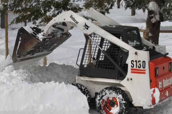 how to clear land with a bobcat