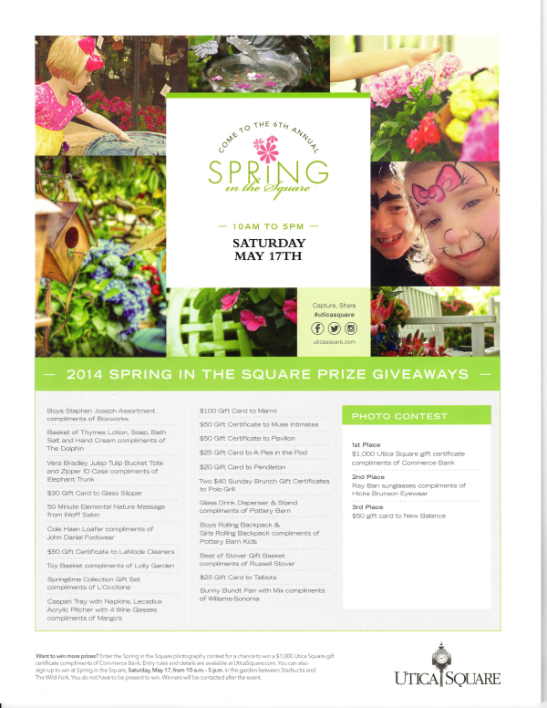 2014 Spring in the Square withTulsa Landscape Inc