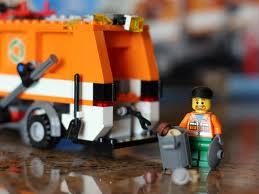 Tulsa Landscape Lego trash truck