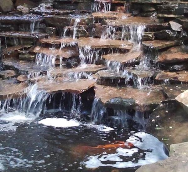 Tulsa Botanic Garden Water feature