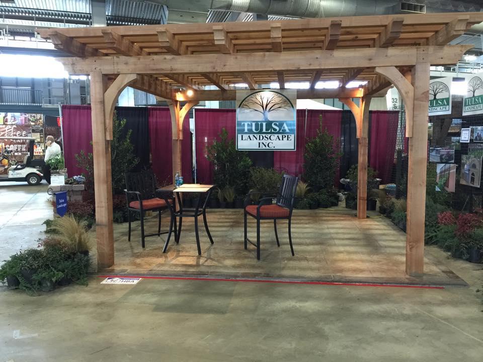 Tulsa Landscape Home and Garden show Arbor